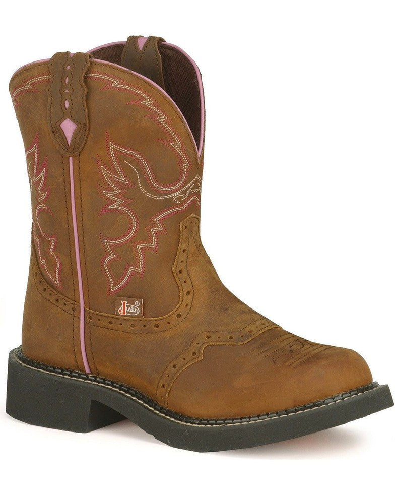 "Justin Women's Gypsy Collection 8"" Western Boots Style L9903"