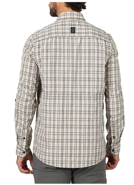 Wrangler Men's Long Sleeve ATG Hike to Fish Shirt NSP92CA