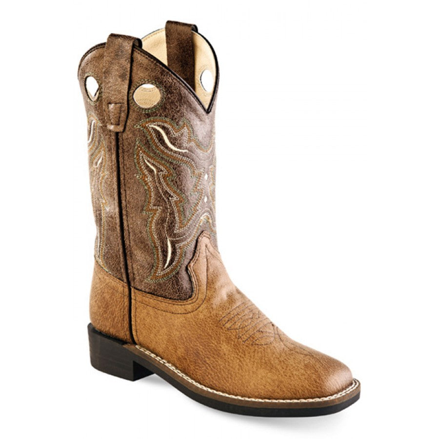 Jama Old West Children Brown Crackle Style VB9113