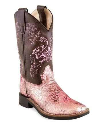 Old West Girls Western Boot Style VB9154