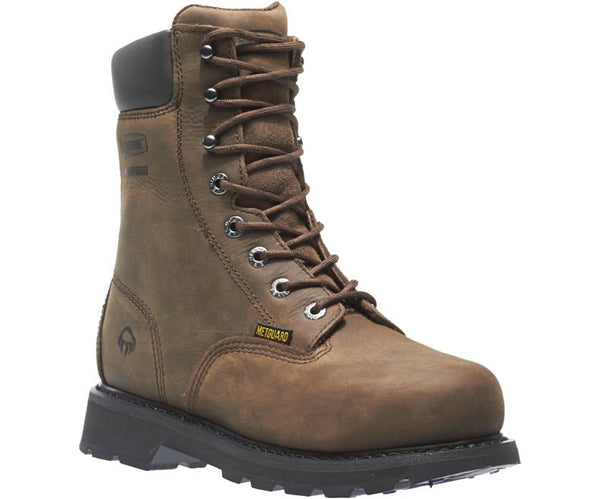 "WOLVERINE MEN'S MCKAY WATERPROOF STEEL-TOE 8"" WORK BOOT STYLE W05680"