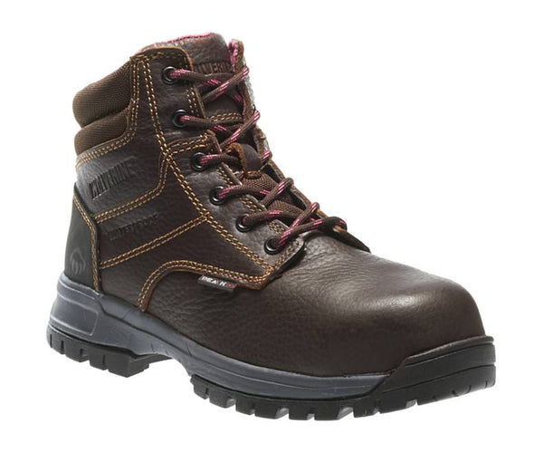 "WOLVERINE WOMEN'S PIPER WATERPROOF COMPOSITE-TOE 6"" WORK BOOT STYLE W10180"