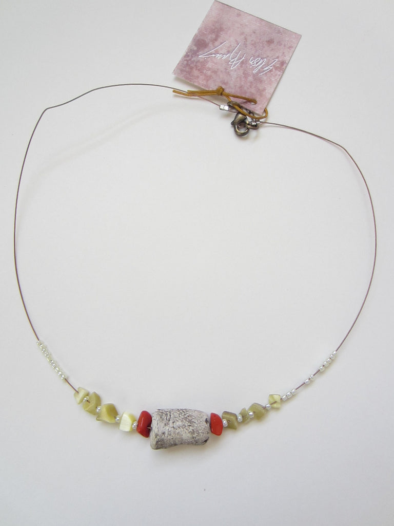 Short Bead Necklace
