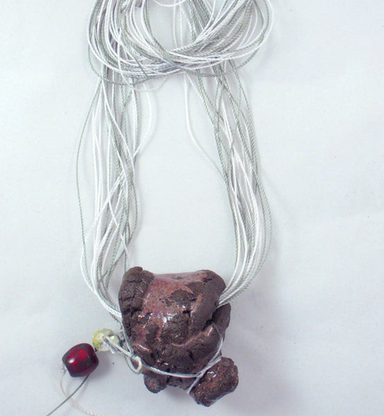 Brown Multi-Thread Long Necklace