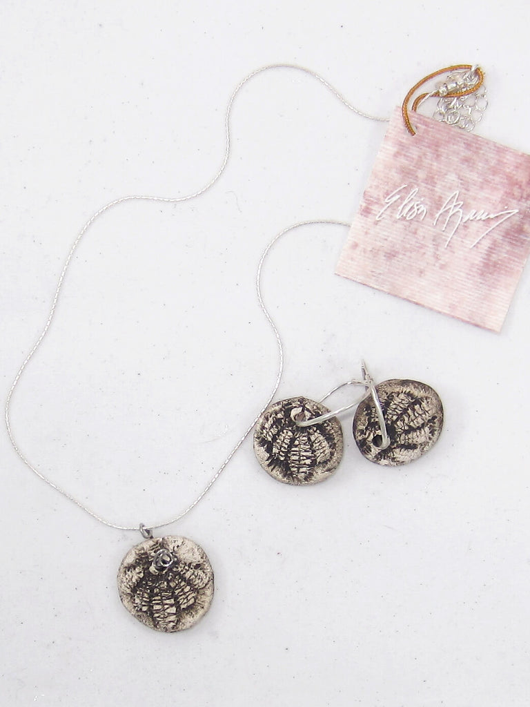Short Necklace and Earring Set