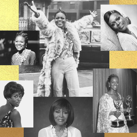 Collage of Cicely Tyson