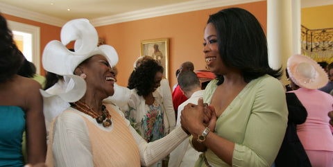 Cicely Tyson and Oprah