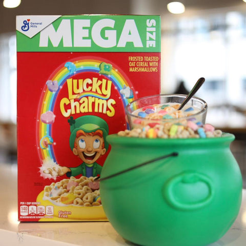Lucky Charms cereal candle