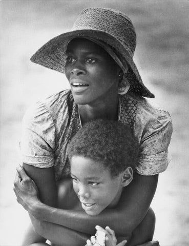 Cecily Tyson Holding Her Son in Sounder