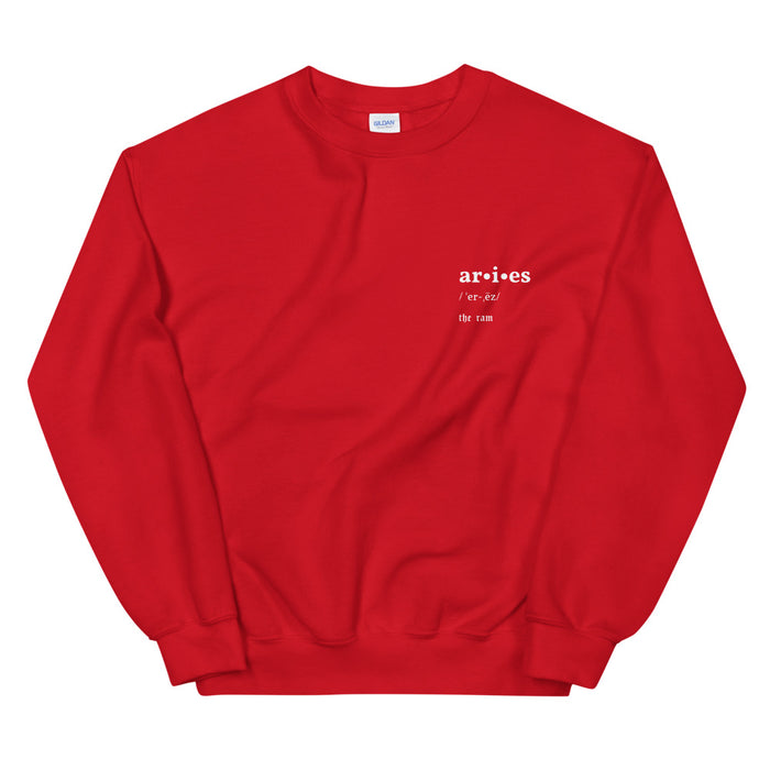Aries V-Day Pullover