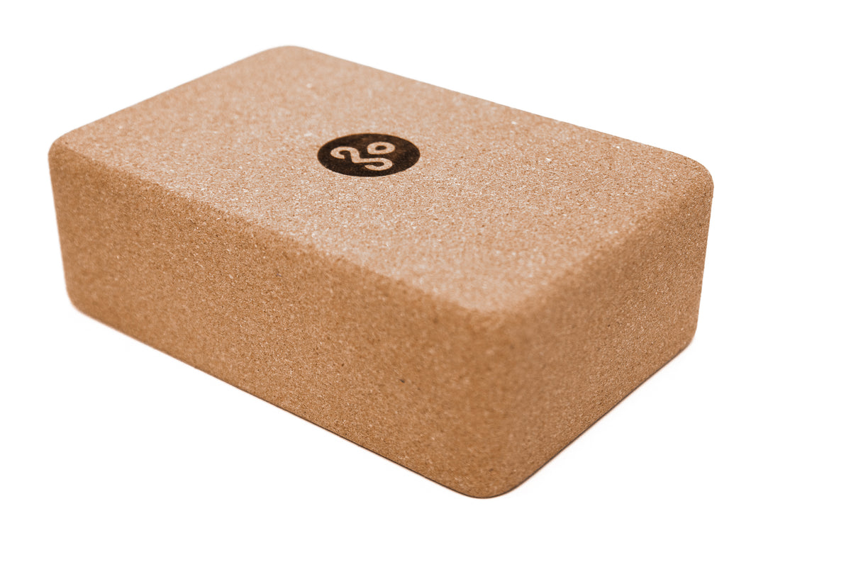 Cork Yoga Block - Kindfolk Athletics