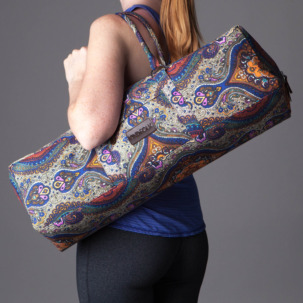 Patterned Yoga Mat Duffel Bag - Kindfolk Athletics