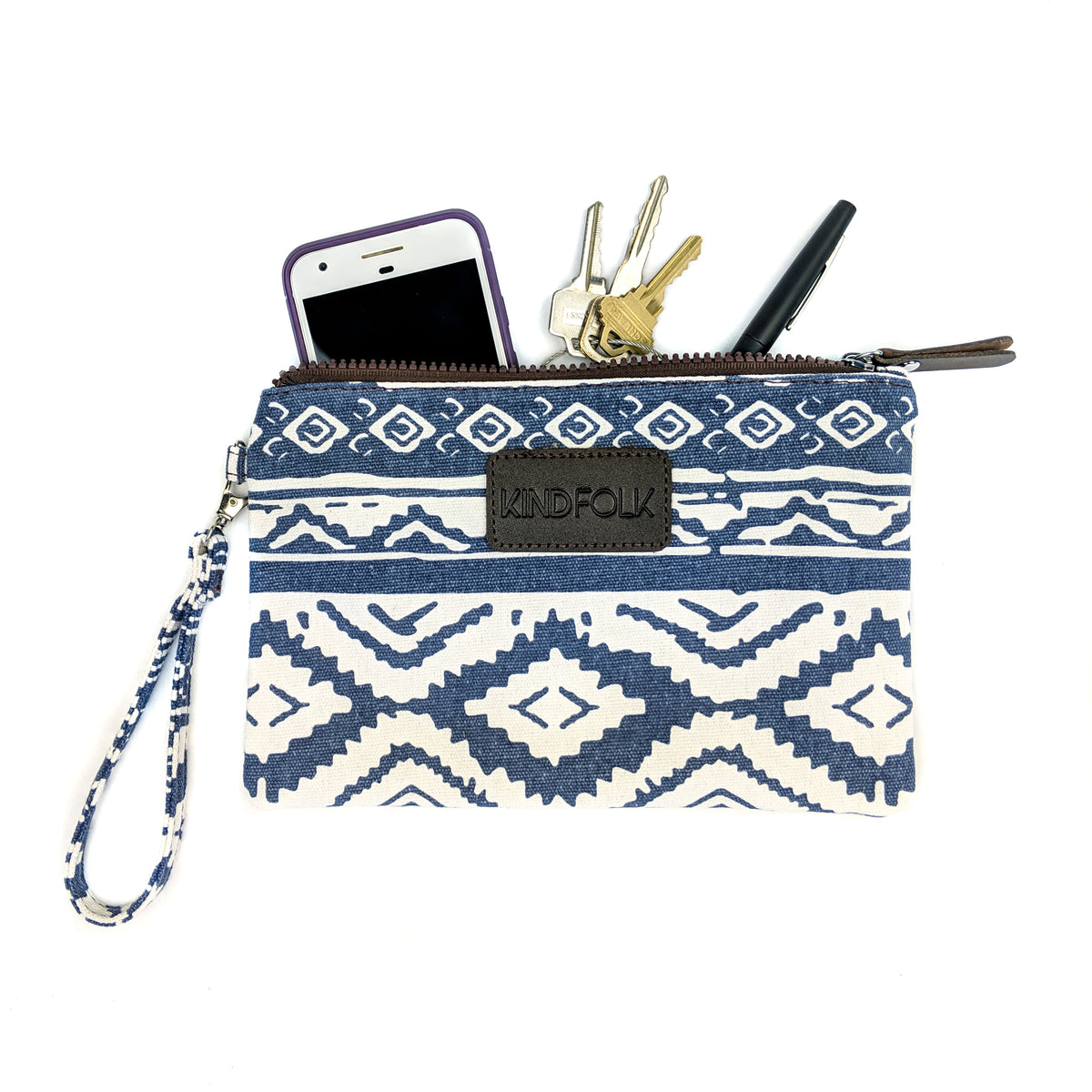 Accessory Pouch Wristlet - Kindfolk Athletics