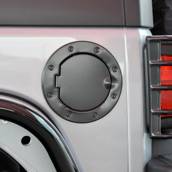Gas Cap Cover For Jeep Wrangler JK (2007-2016) - JWM 4x4 Jeep Wrangler Products