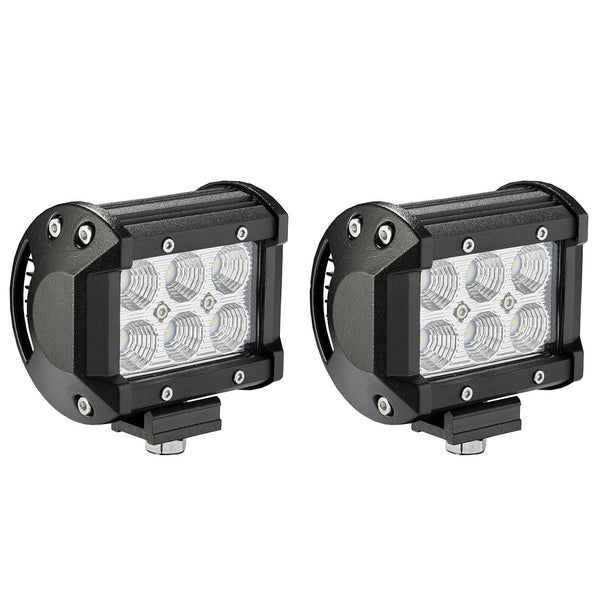 "4"" LED CREE Lights Spot Beam - JWM 4x4 Jeep Wrangler Products"