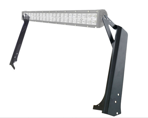 "52"" LED Light Bar Brackets For Jeep Wrangler TJ (1997-2006) - JWM 4x4 Jeep Wrangler Products"