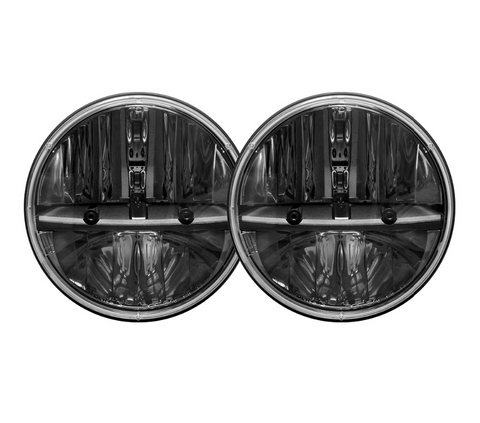 "7"" LED CREE Headlights (Plug & Play) For Jeep Wrangler CJ TJ JK (1997-Current)"