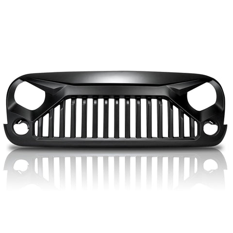 Aggressive Front Grill For Jeep Wrangler JK (2007-2017) - JWM 4x4 Jeep Wrangler Products