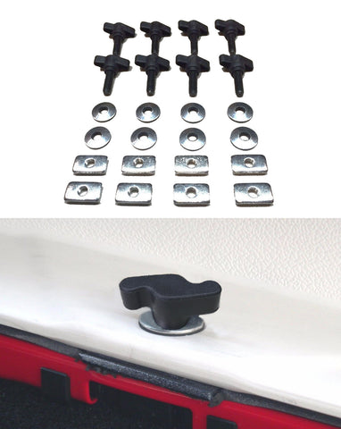 Easy On/Off Hard Top Fasteners V2 for  For Jeep Wrangler YJ TJ JK (1987-2017) - JWM 4x4 Jeep Wrangler Products
