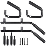 Front & Rear Steel Grab Bar Set For Jeep Wranglers (2007-2017) - JWM 4x4 Jeep Wrangler Products