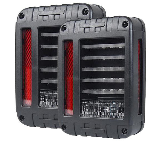 LED Rugged Tail Light For Jeep Wrangler JK (2007-2016) - JWM 4x4 Jeep Wrangler Products