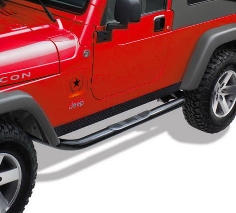 Side Step Nerf Bars For Jeep Wrangler TJ (1987-2006) - JWM 4x4 Jeep Wrangler Products
