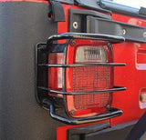 Tail Light Guards For Jeep Wrangler TJ, YJ, CJ  (1976-2006) - JWM 4x4 Jeep Wrangler Products