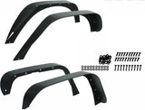 Textured Fender Flares Kit For Jeep Wrangler JK (2007-2017) - JWM 4x4 Jeep Wrangler Products