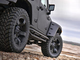 Tubular Side Armor Nerf Bars For 4 Door Jeep Wrangler JK (2007-2017) - JWM 4x4 Jeep Wrangler Products