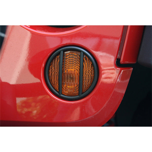 Signal Light Guards For Jeep Wrangler JK (2007-2017) - JWM 4x4 Jeep Wrangler Products