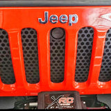 Hood Lock Grille Insert For Jeep Wrangler JK (2007-2017)