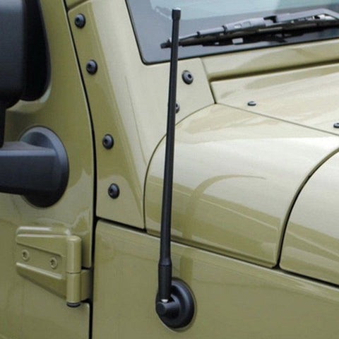 "13"" Rubber Antenna For Jeep Wrangler JK (2007-2017)"
