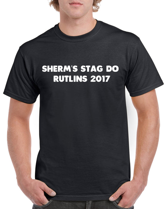 Sherm's Stag Do Rutlins 2017