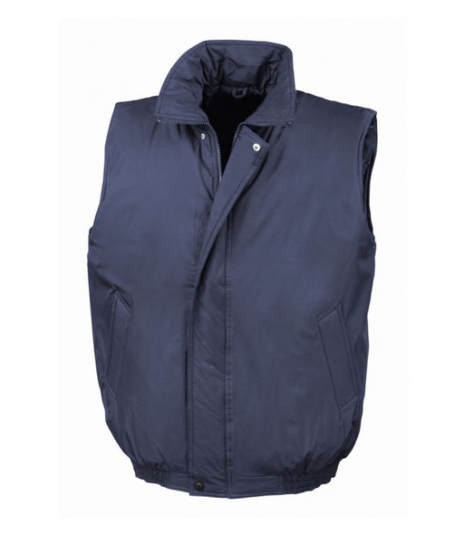 Wizard Printers Dougfield Result Padded Bodywarmer -  RS113 Wizard Printers