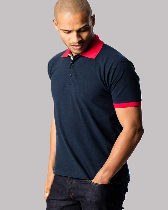 Contrast Polo Shirt - UC107 Wizard Printers