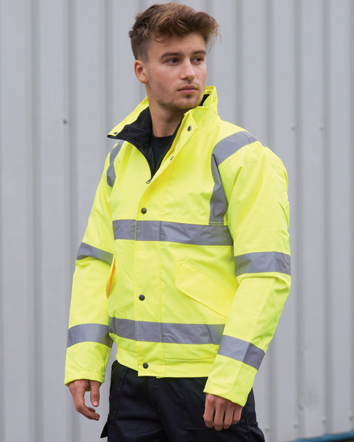 Portwest PW001 - High Visibility Bomber Jacket Wizard Printers