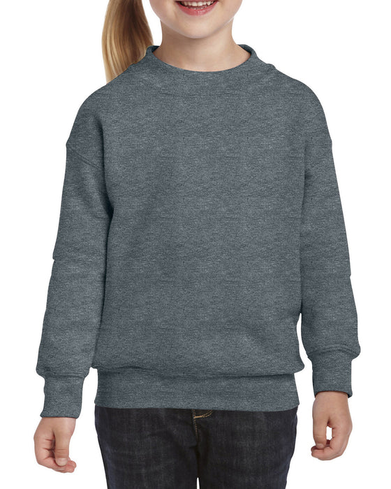Gildan GD56B - Kids Heavy Blend Crewneck Sweatshirt Wizard Printers
