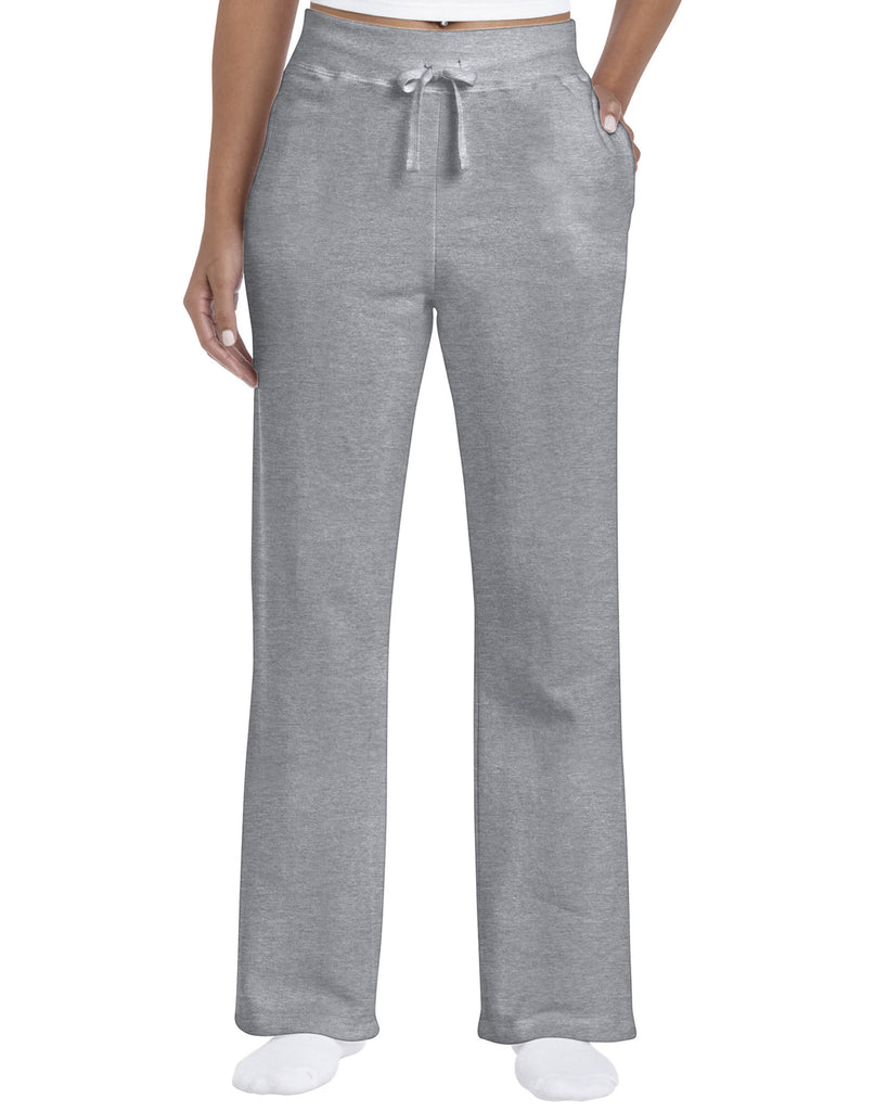 GD85 - Ladies Heavy Blend Open Bottom Sweatpant - Wizard Printers - 5