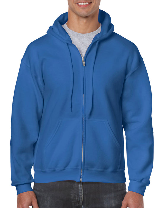 Gildan GD58 - Heavy Blend Zip Hooded Sweatshirt Wizard Printers