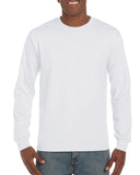 GD14 - Gildan Ultra Cotton Long Sleeve T-Shirt - Wizard Printers - 3