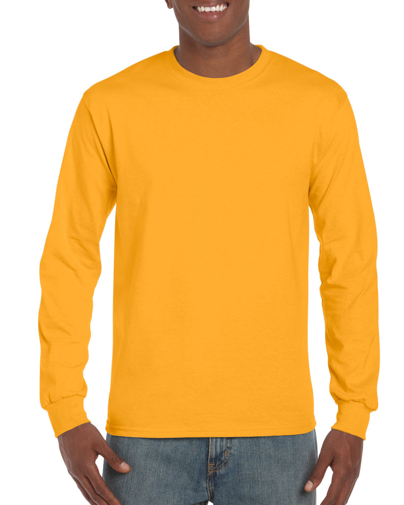 GD14 - Gildan Ultra Cotton Long Sleeve T-Shirt - Wizard Printers - 13