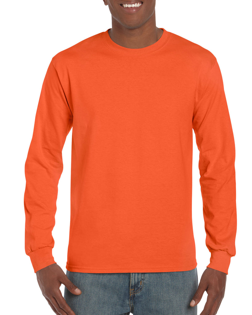 GD14 - Gildan Ultra Cotton Long Sleeve T-Shirt - Wizard Printers - 14