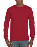 GD14 - Gildan Ultra Cotton Long Sleeve T-Shirt - Wizard Printers - 4