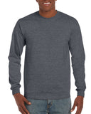 GD14 - Gildan Ultra Cotton Long Sleeve T-Shirt - Wizard Printers - 8
