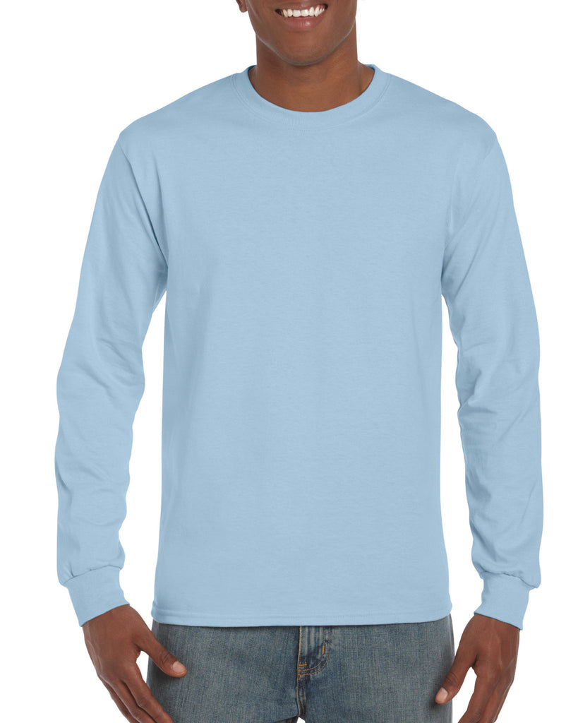 GD14 - Gildan Ultra Cotton Long Sleeve T-Shirt - Wizard Printers - 10