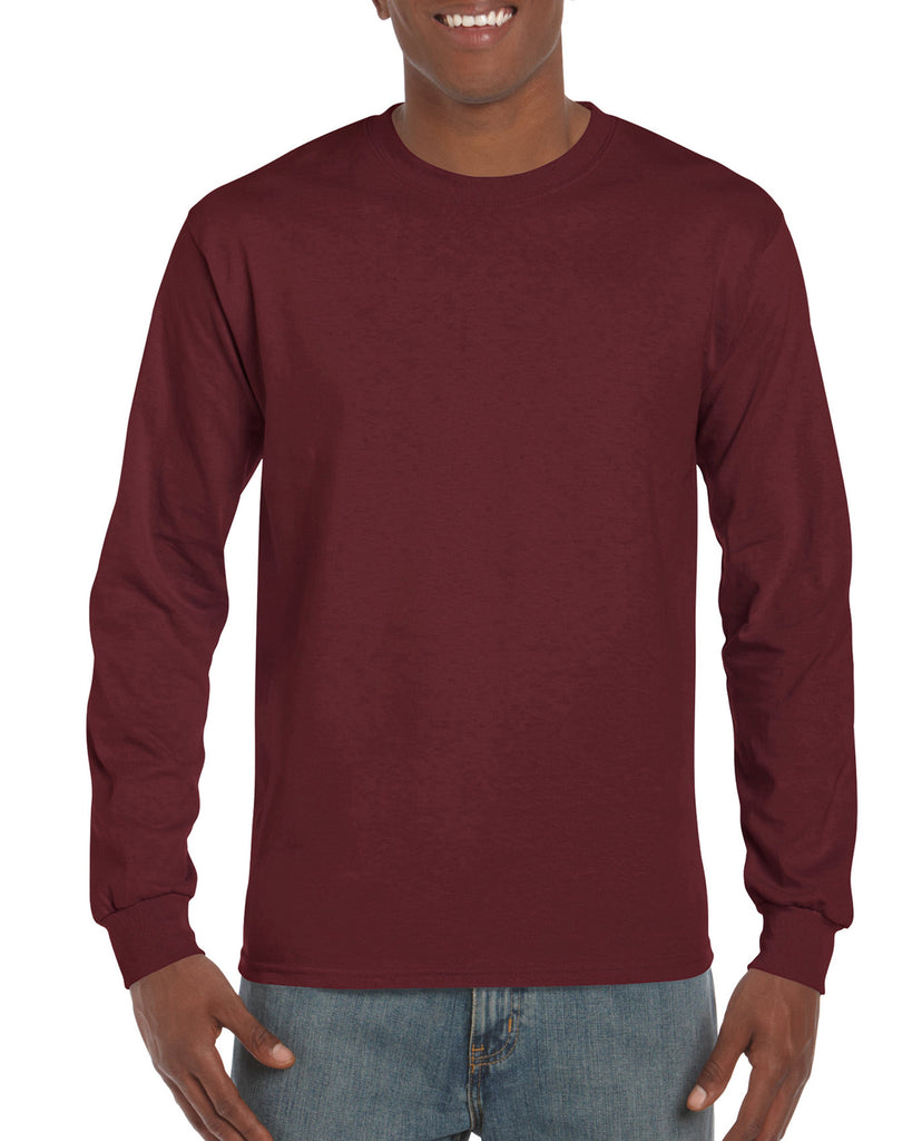 GD14 - Gildan Ultra Cotton Long Sleeve T-Shirt - Wizard Printers - 17