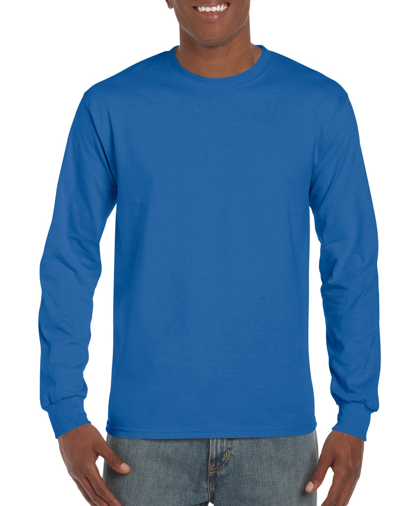 GD14 - Gildan Ultra Cotton Long Sleeve T-Shirt - Wizard Printers - 18