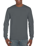 GD14 - Gildan Ultra Cotton Long Sleeve T-Shirt - Wizard Printers - 2