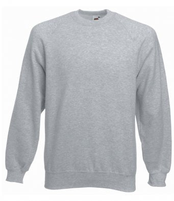 Fruit of the Loom SS8 - Classic Raglan Sweatshirt Wizard Printers