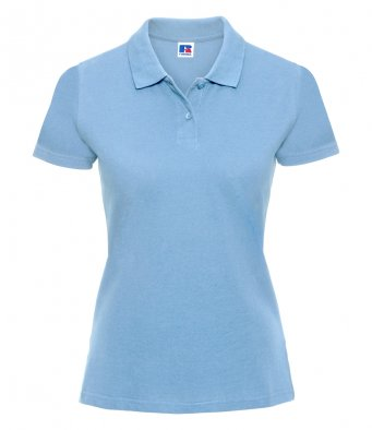 Russell 569F - Ladies Classic Cotton Piqué Polo Shirt Wizard Printers